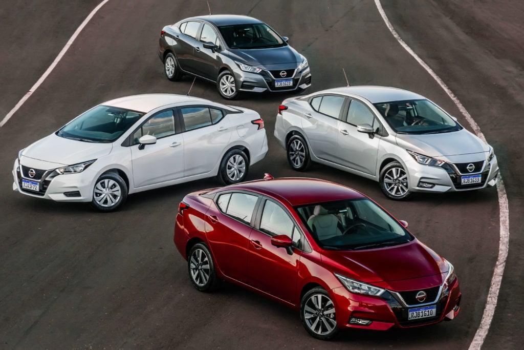 Novo Nissan Versa chega em 4 versões completíssimas, a partir de R$ 72.990