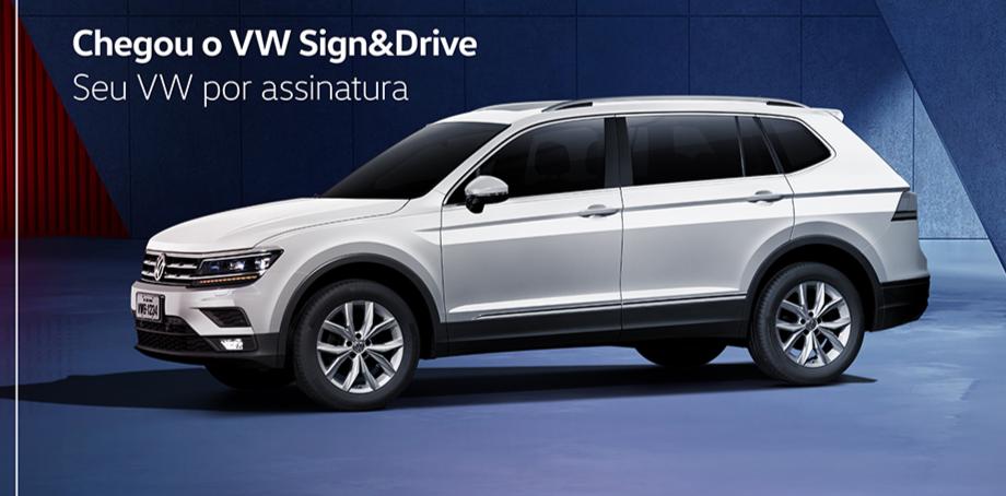 Volkswagen lança carro por assinatura: planos para T-Cross e Tiguan partem de R$ 1.899/mês