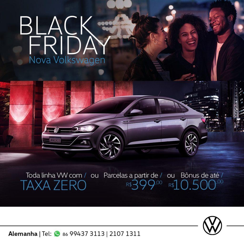 Black Friday Nova Volkswagen: as melhores ofertas do ano para toda a linha!
