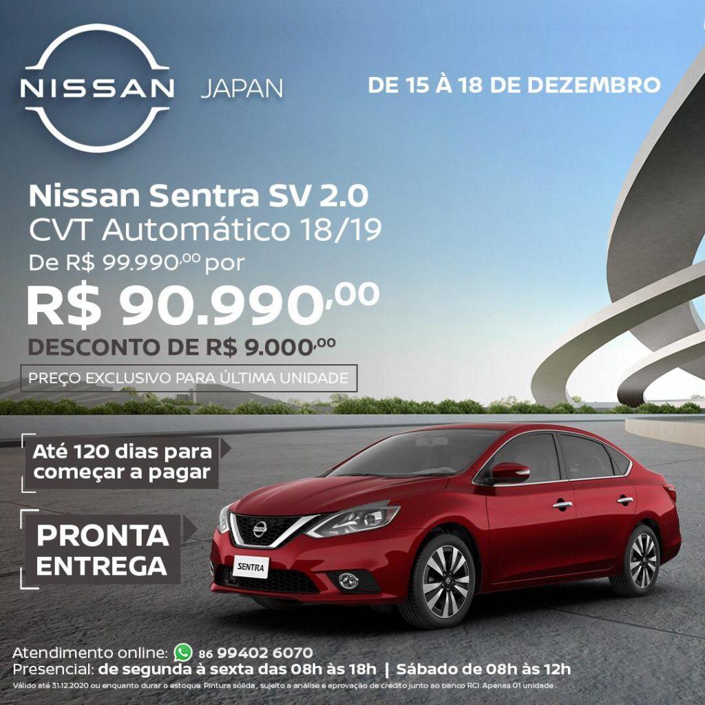 Garanta seu Nissan zero com Pronta Entrega na Japan Veículos! Confira as ofertas