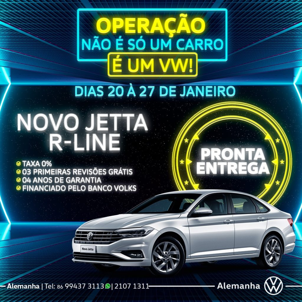 Aproveite as condições incríveis da Operação Não é só um carro, é um Volkswagen!
