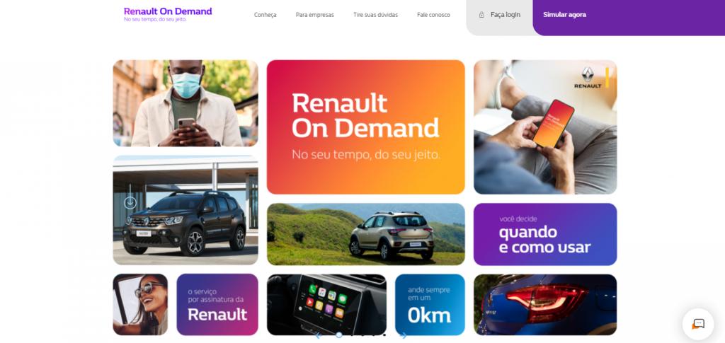 Serviço de carro por assinatura, Loopster evolui para Renault On Demand
