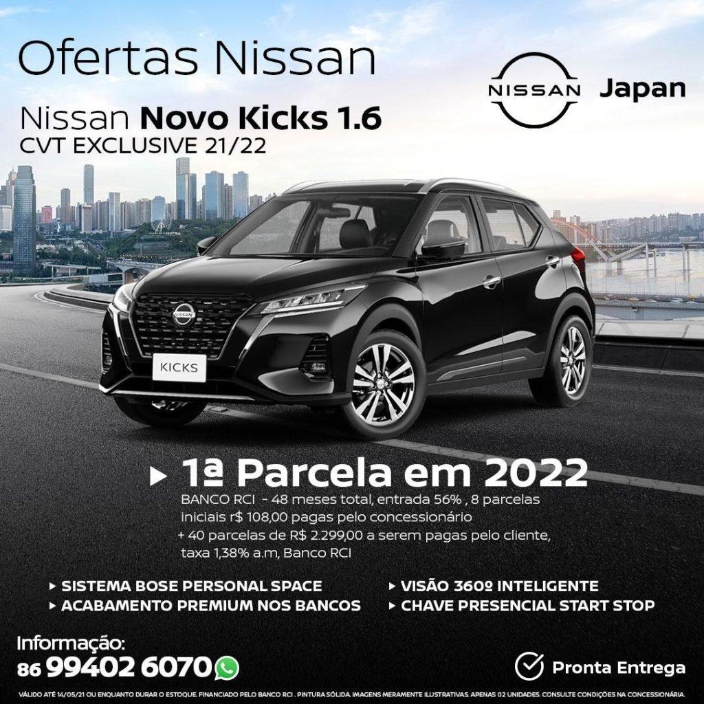 Ofertas Japan Veículos: confira as condições especiais para o Nissan Kicks 2022!