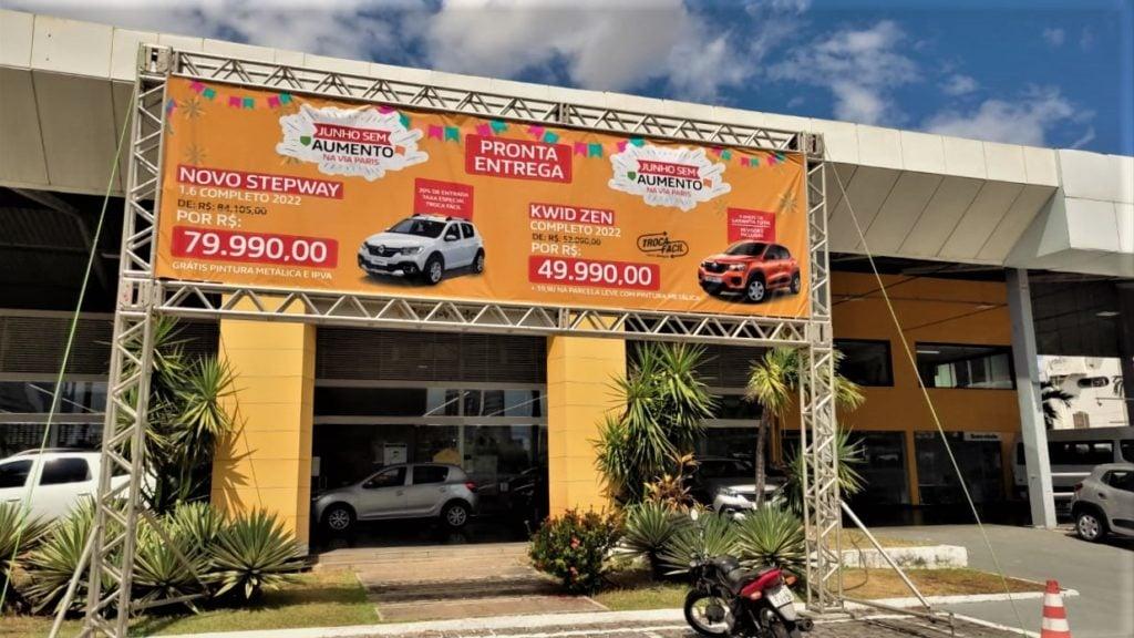 Toda a linha Renault com ofertas incríveis em Teresina e Parnaíba: confira!