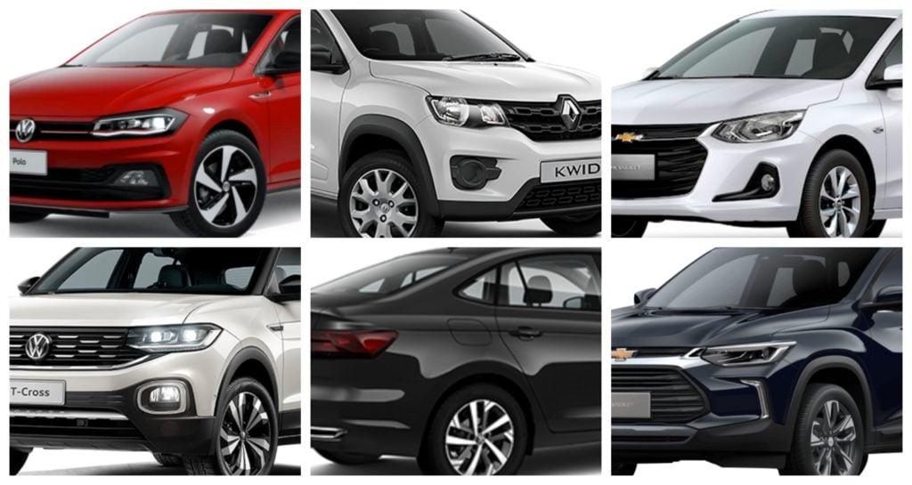 Lista: Os carros que menos se desvalorizam no Brasil em 2021