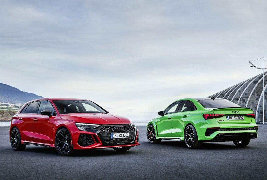 De 0 a 100 km/h em 3,8 segundos: Audi apresenta os novos RS 3 Sedan e Sportback