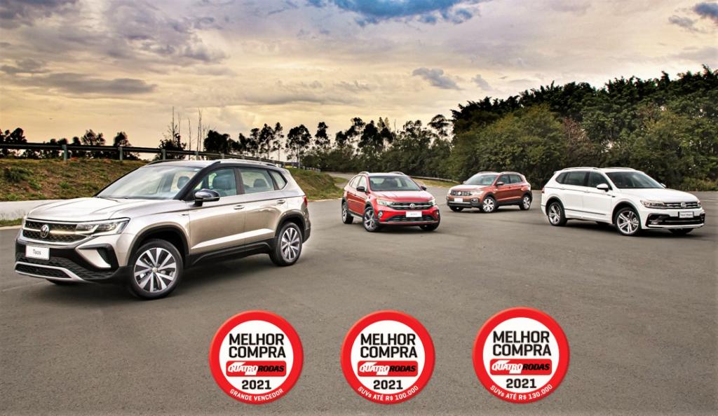 Volkswagen Taos é eleito a Melhor Compra entre todos os carros vendidos no Brasil