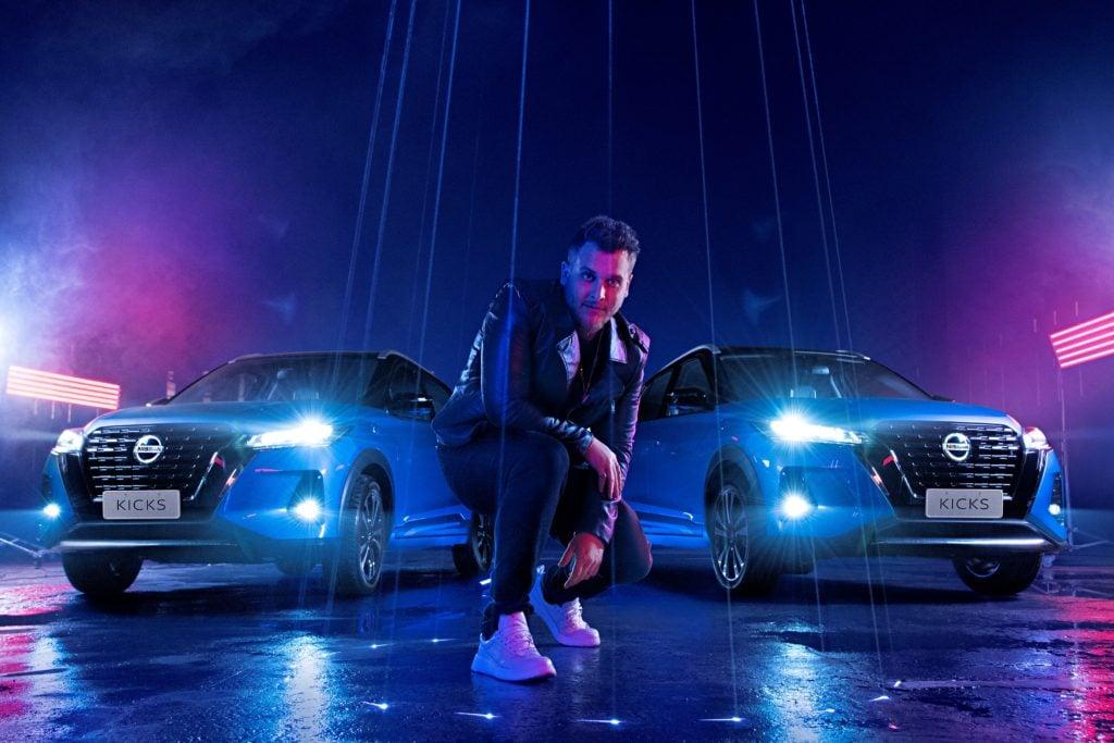 """É hoje às 20h! Bruno Martini e Nissan Kicks lançam a música """"Attitude"""" em live"""